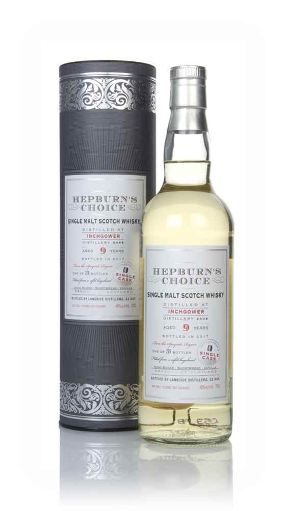Inchgower 9 Year Old 2008 - Hepburn's Choice (Langside)