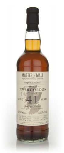 Invergordon 41 Year Old - Single Cask (Master of Malt)