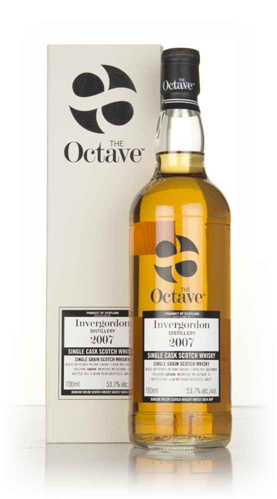 Invergordon 10 Year Old 2007 (cask 5214805) - The Octave (Duncan Taylor)