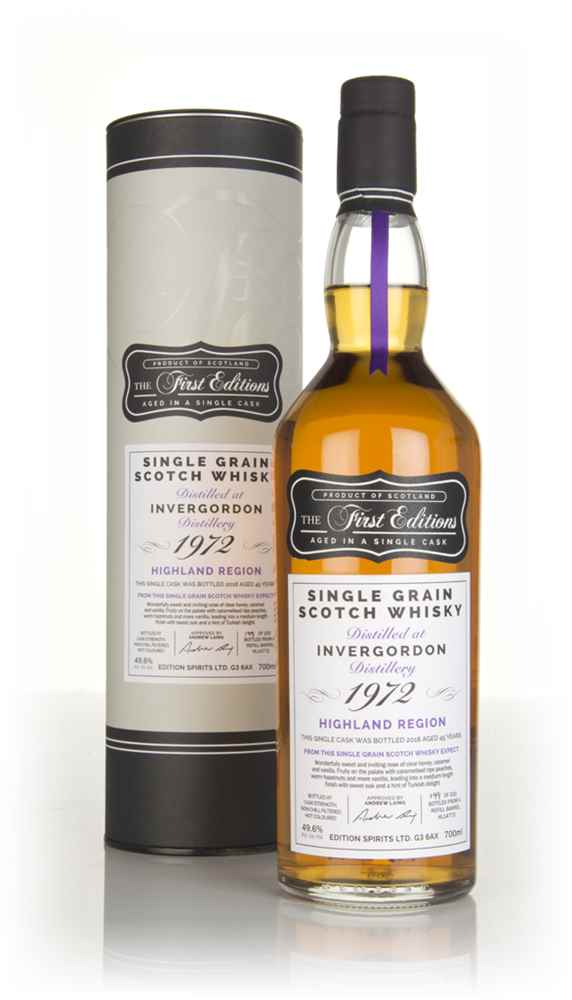 Invergordon 45 Year Old 1972 (cask 14772) - The First Editions (Hunter Laing)
