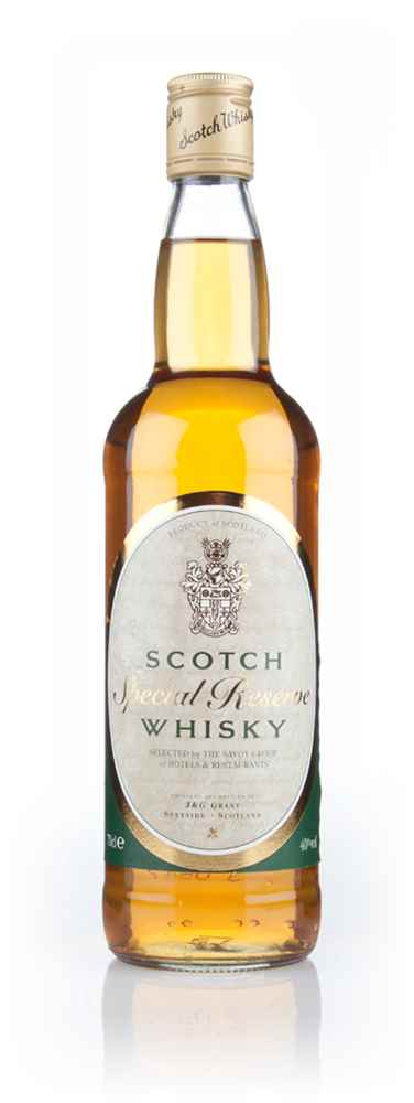Special Reserve Scotch Whisky (Selected by the Savoy Group of Hotels & Restaurants)