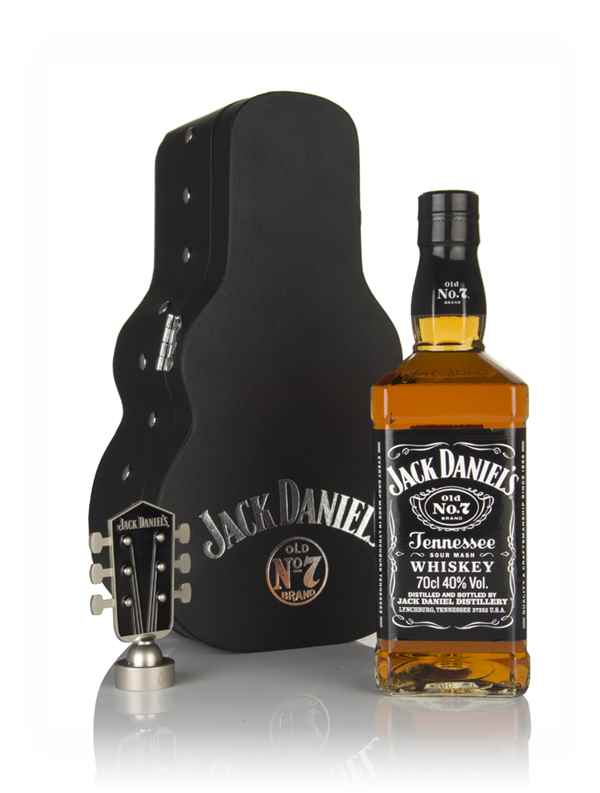 Jack Daniel's Tennessee Whiskey Guitar Case Gift Pack