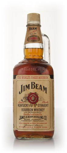 Jim Beam White Label 1.75l - 1970s