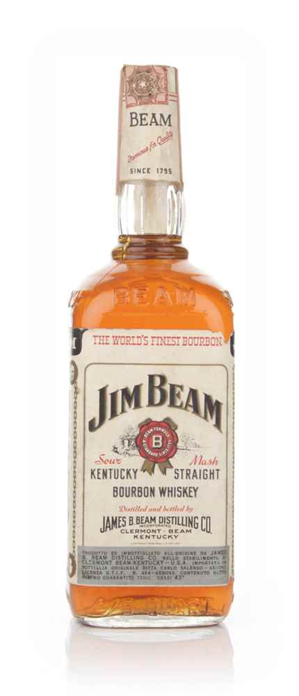Jim Beam White Label - 1966