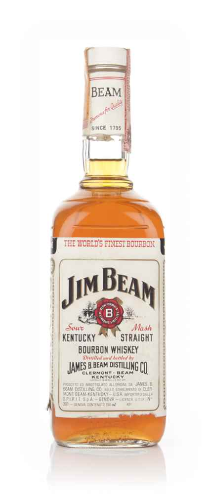 Jim Beam White Label - 1979
