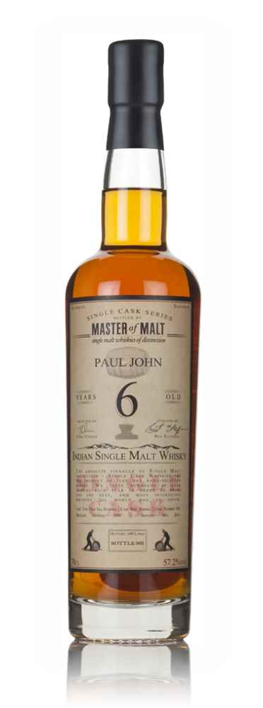 Paul John 6 Year Old 2009 (cask 534) - Single Cask (Master of Malt)