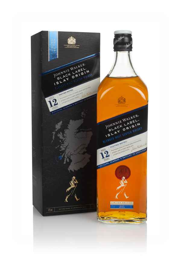 Johnnie Walker Black Label 12 Year Old Islay Origin