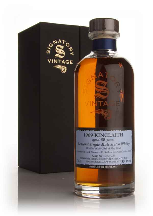 Kinclaith 35 Year Old 1969 (Signatory)