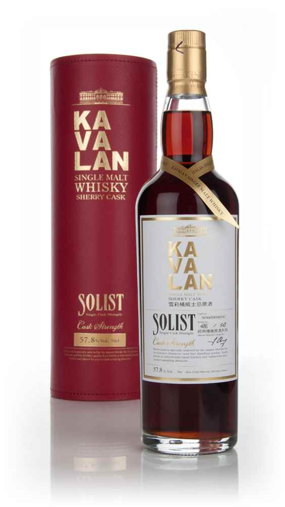Kavalan Solist Sherry Cask Matured (cask 60821049)