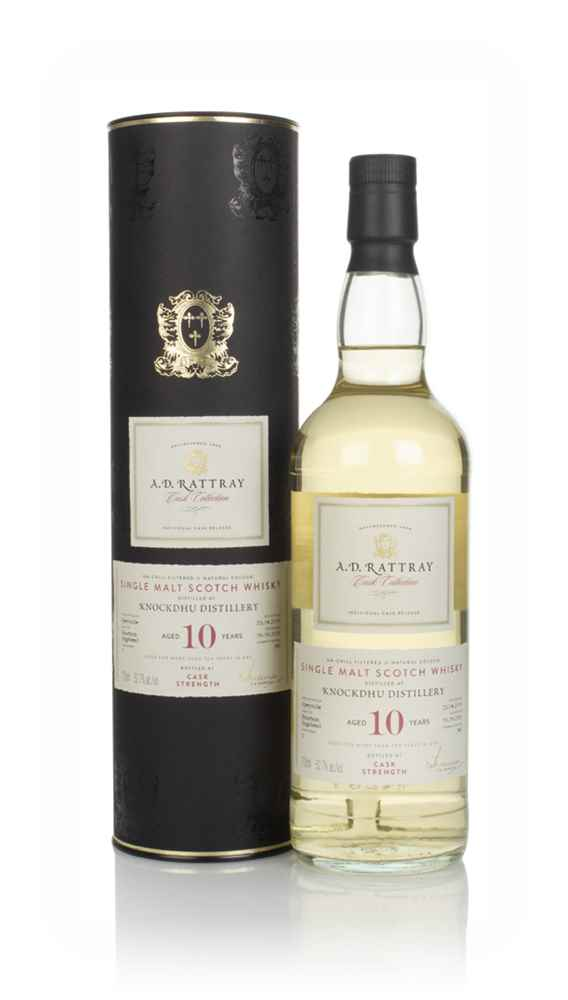 Knockdhu 10 Year Old 2009 (cask 2) - Cask Collection (A.D. Rattray)