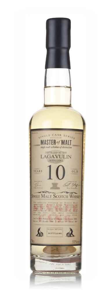 Lagavulin 10 Year Old 2006 - Single Cask (Master of Malt)