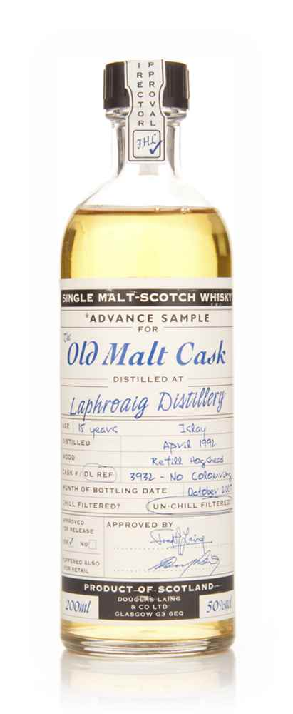 Laphroaig 15 Year Old 1992 Advance Sample - Old Malt Cask (Douglas Laing)