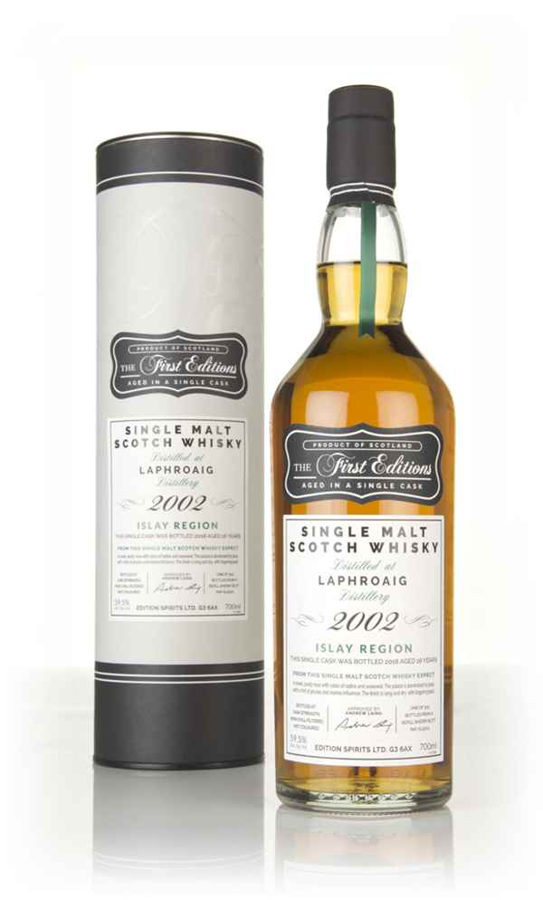 Laphroaig 16 Year Old 2002 (cask 15101) - The First Editions (Hunter Laing)