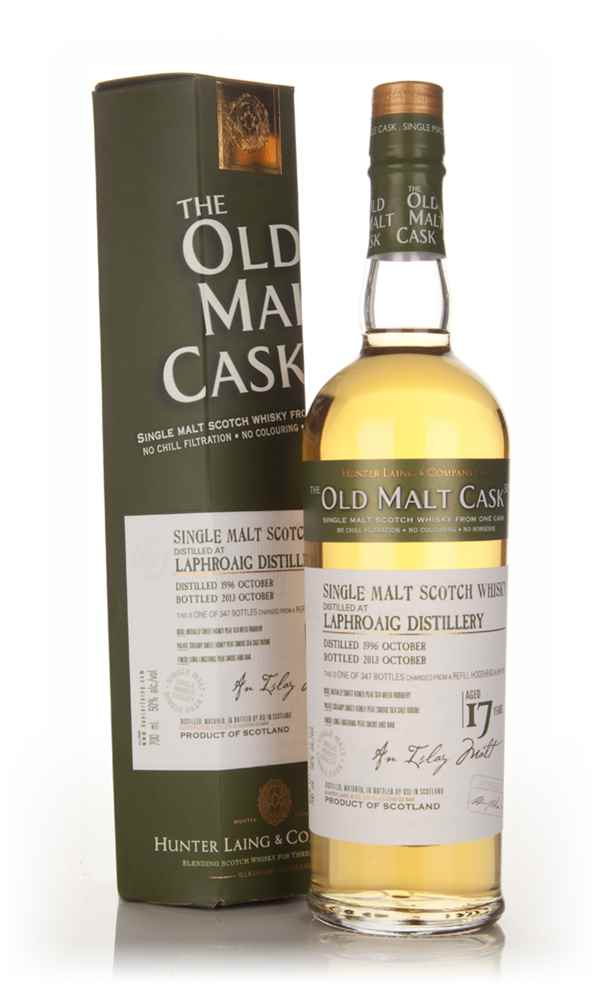 Laphroaig 17 Year Old 1996 (cask 10125) - Old Malt Cask (Hunter Laing)