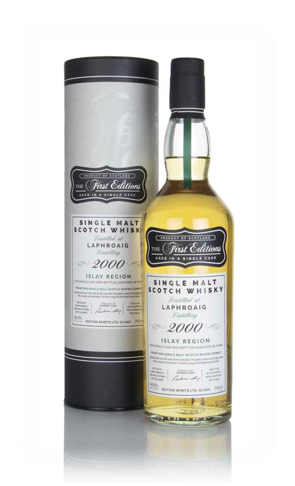 Laphroaig 18 Year Old 2000 (cask 15530) - The First Editions (Hunter Laing)