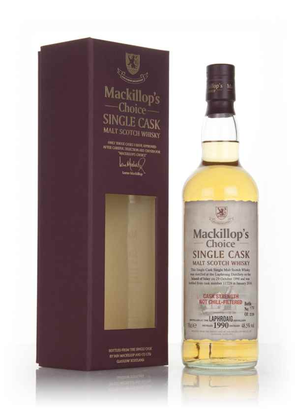 Laphroaig 25 Year Old 1990 (cask 11729) - Mackillop's Choice