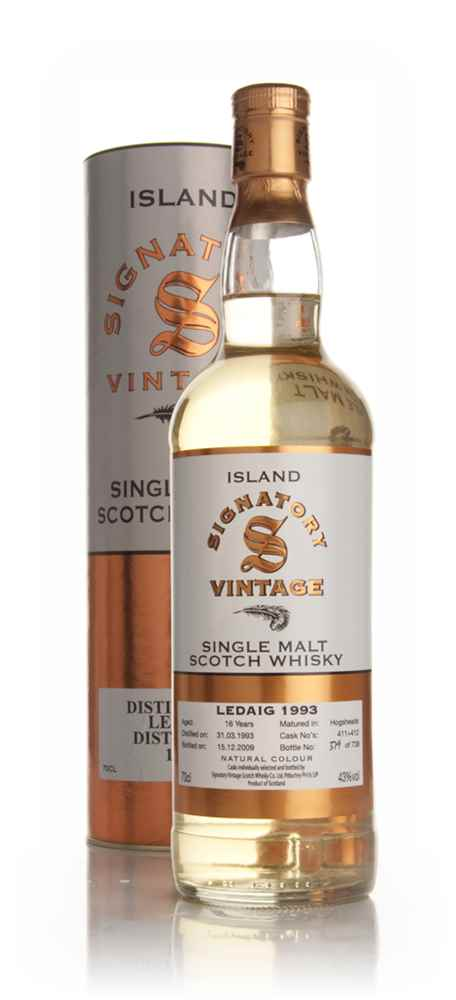Ledaig 17 Year Old 1993 (Signatory)