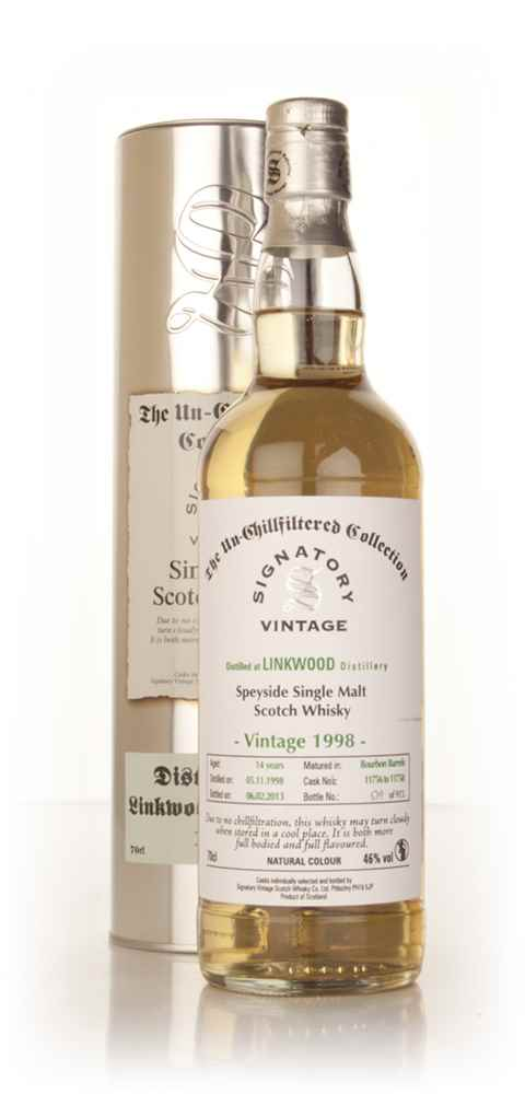 Linkwood 14 Year Old 1998 (casks 11756-11758) - Un-Chillfiltered (Signatory)