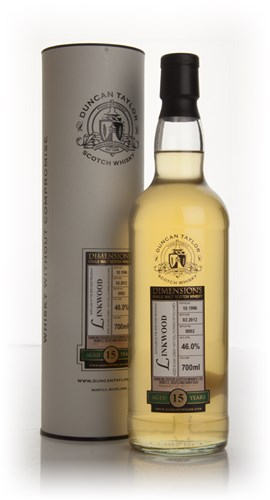 Linkwood 15 Year Old 1996 - Batch 0002 - Dimensions (Duncan Taylor)