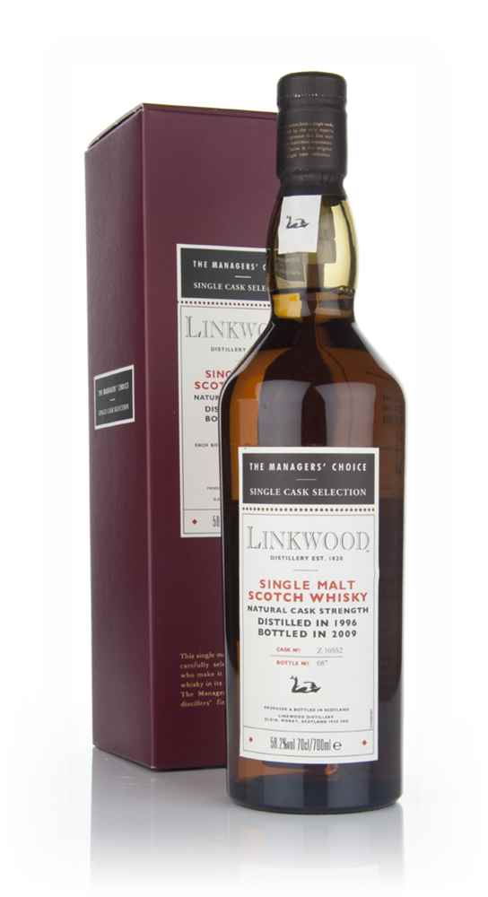 Linkwood 1996 - Managers Choice