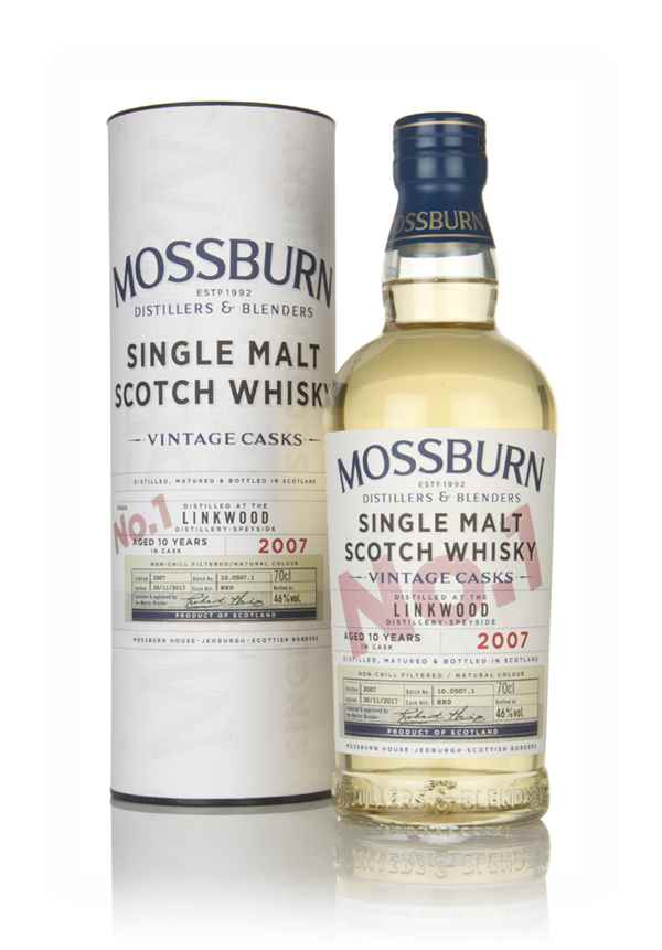 Linkwood 10 Year Old 2007 - Vintage Casks (Mossburn)