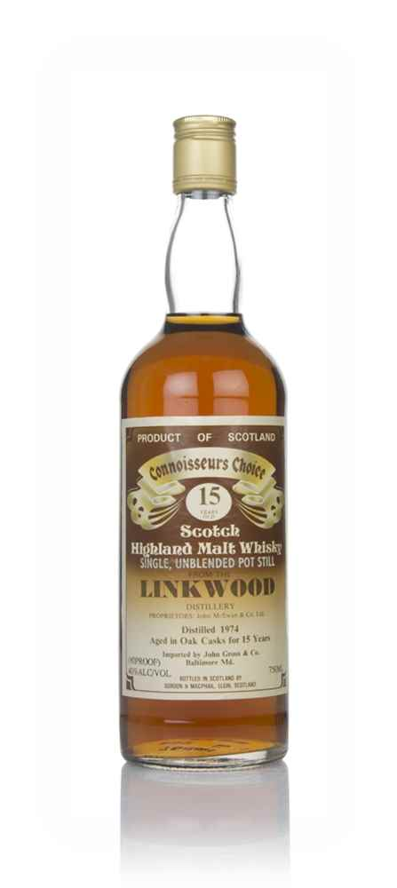 Linkwood 15 Year Old 1974 - Connoisseurs Choice (Gordon & MacPhail)