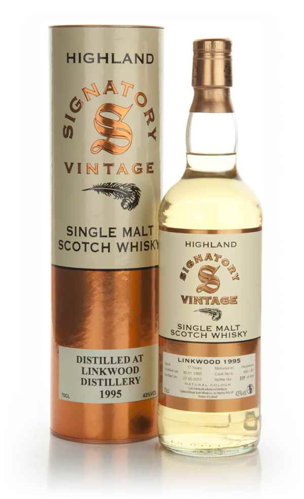 Linkwood 17 Year Old 1995 (Signatory)