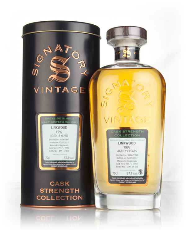 Linkwood 19 Year Old 1997 (casks 7557 & 7558) - Cask Strength Collection (Signatory)