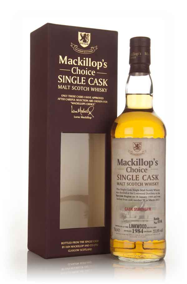 Linkwood 29 Year Old 1984 (cask 50) - Mackillop's Choice