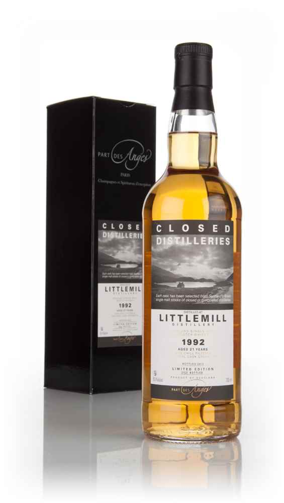 Littlemill 21 Year Old 1992 - Closed Distilleries (Part Des Anges)