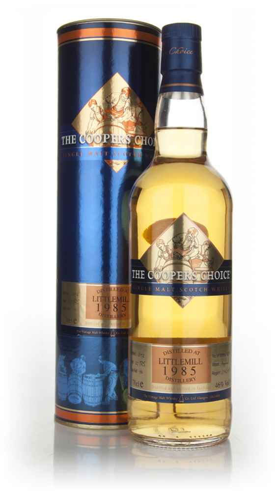 Littlemill 27 Year Old 1985 - The Coopers Choice (The Vintage Malt Whisky Co.)