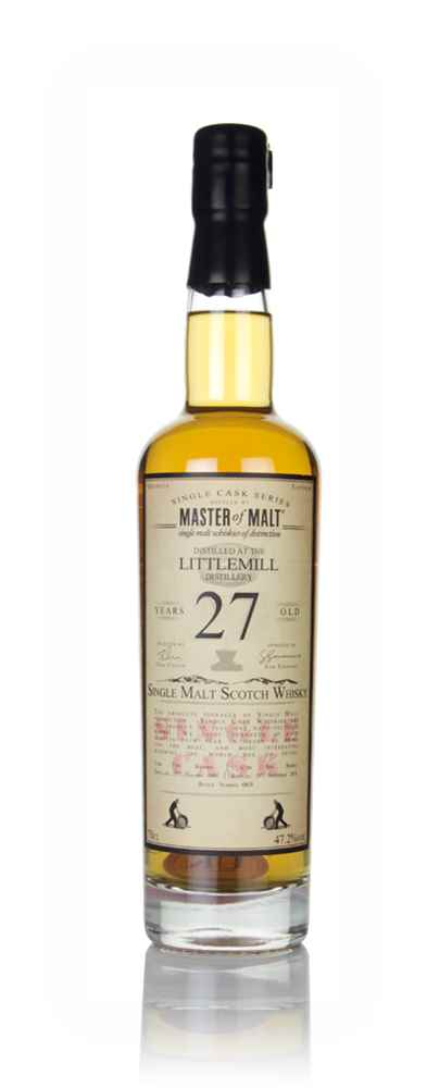 Littlemill 27 Year Old 1991 - Single Cask (Master of Malt)