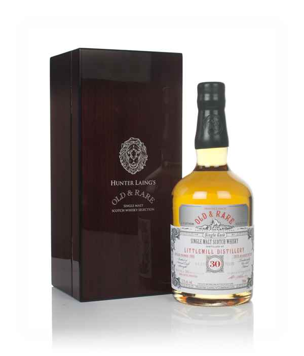 Littlemill 30 Year Old 1988 - Old & Rare Platinum (Hunter Laing)
