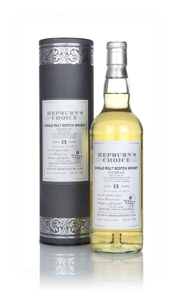 Inchfad 13 Year Old 2005 - Hepburn's Choice (Langside)