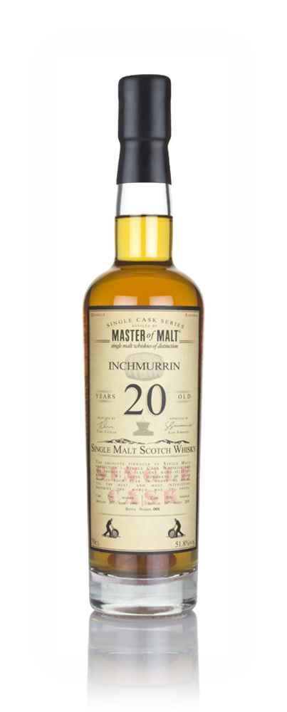 Inchmurrin 20 Year Old 1998 - Single Cask (Master of Malt)