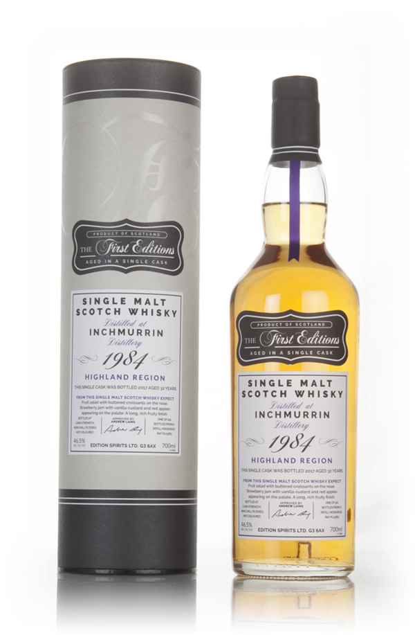 Inchmurrin 32 Year Old 1984 (cask 13363) - The First Editions (Hunter Laing)