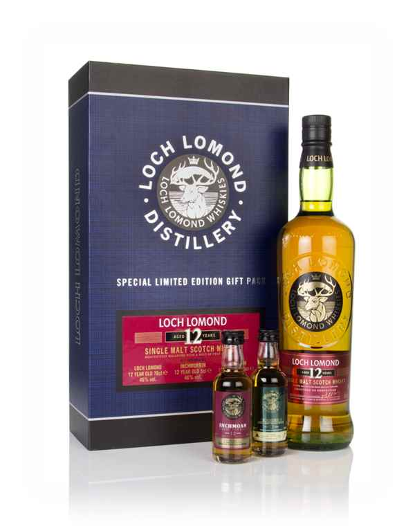 Loch Lomond 12 Year Old Gift Pack
