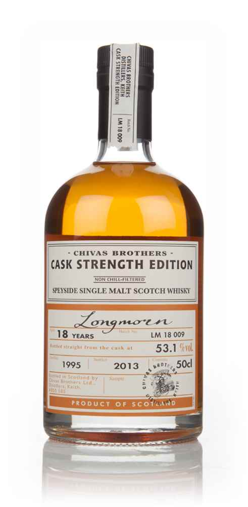 Longmorn 18 Year Old 1995 Cask Strength Edition (Chivas)