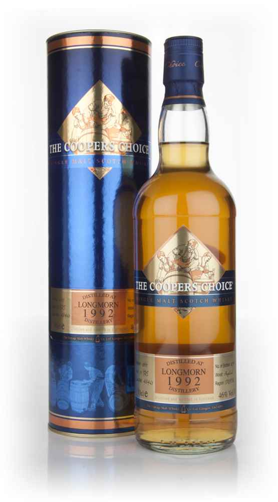Longmorn 19 Year Old 1992 - The Coopers Choice (The Vintage Malt Whisky Co.)
