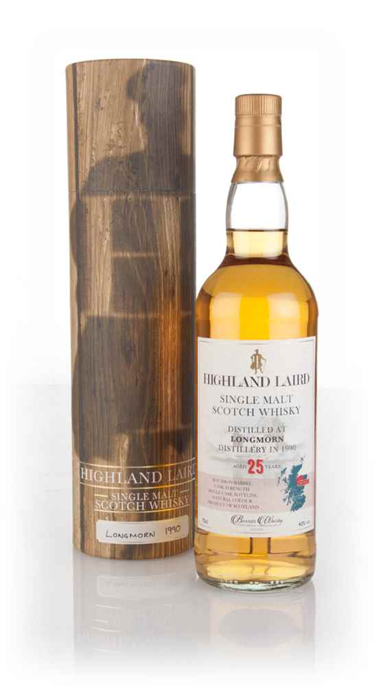 Longmorn 25 Year Old 1990 - Highland Laird (Bartels Whisky)