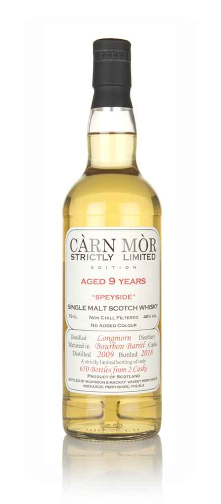 Longmorn 9 Year Old 2009 - Strictly Limited (Càrn Mòr)