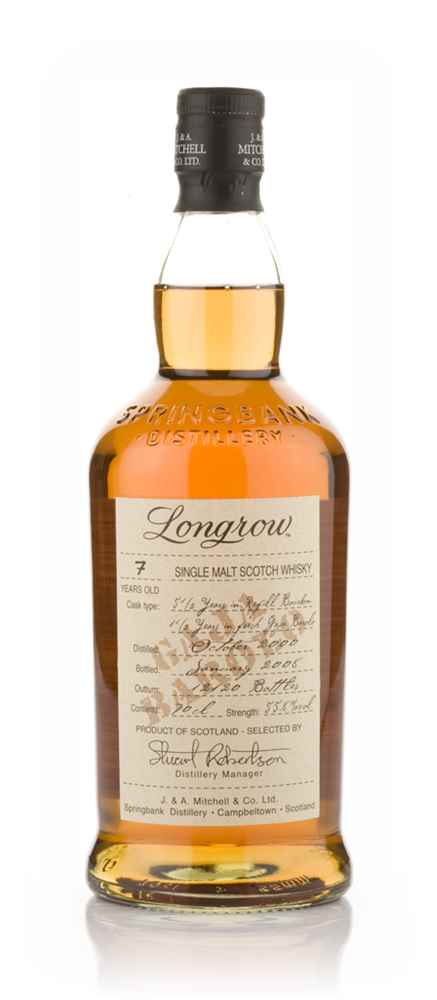 Longrow 7 Year Old Barolo Cask Finish