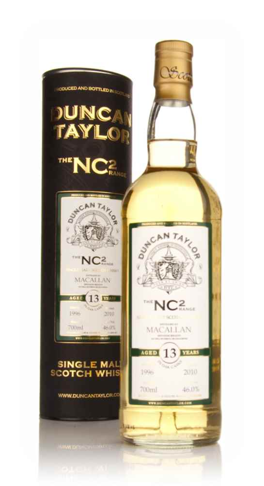 Macallan 13 Year Old 1996 - NC2 (Duncan Taylor)