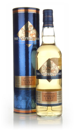 Macallan 14 Year Old 1997 - The Coopers Choice (The Vintage Malt Whisky Co.)