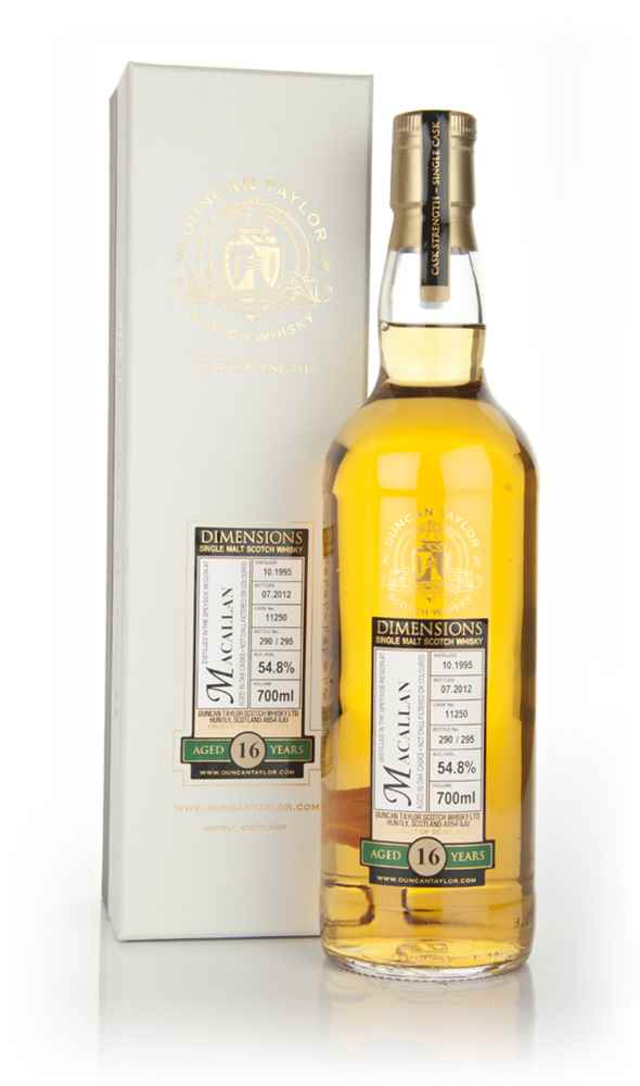 Macallan 16 Year Old 1995 - Dimensions (Duncan Taylor)