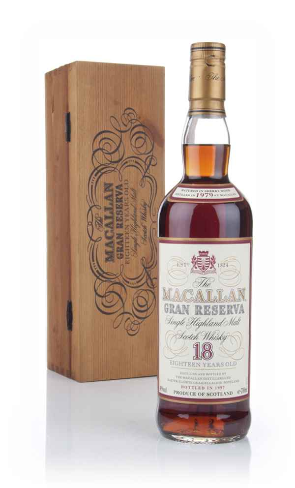 Macallan 18 Year Old 1979 Gran Reserva