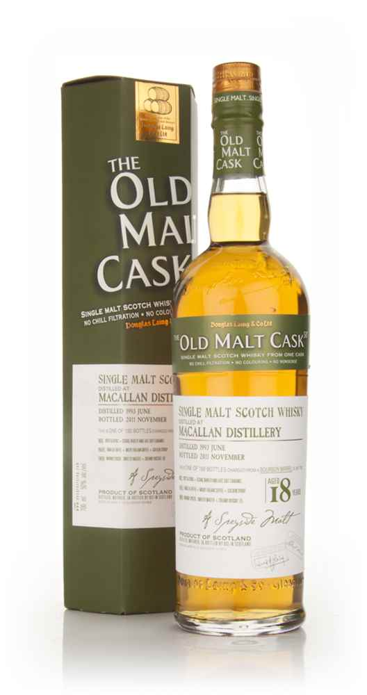 Macallan 18 Year Old 1993 - Old Malt Cask (Douglas Laing)