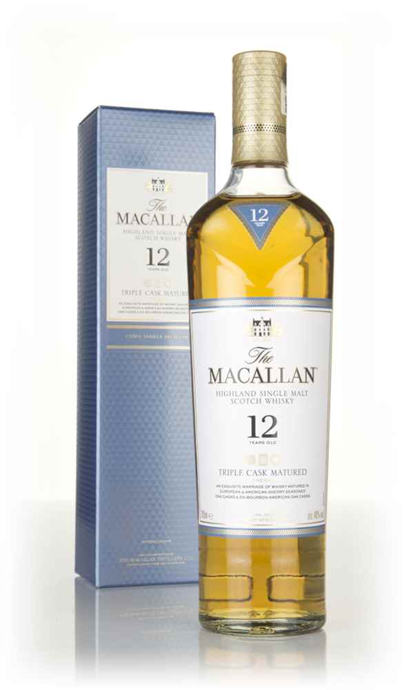 The Macallan 12 Year Old Triple Cask