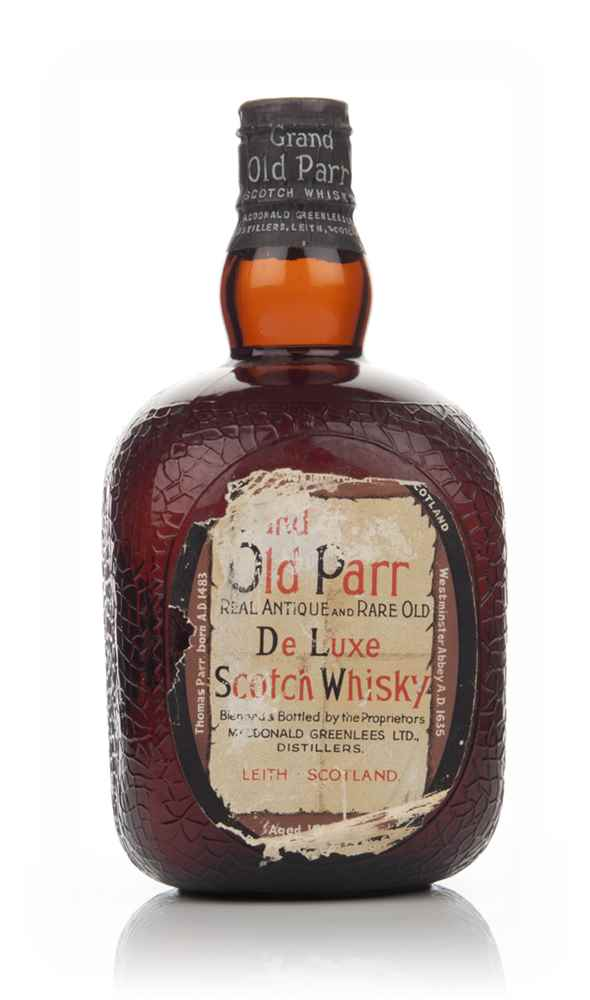 Grand Old Parr De Luxe Scotch Whisky (No Box) - 1950s
