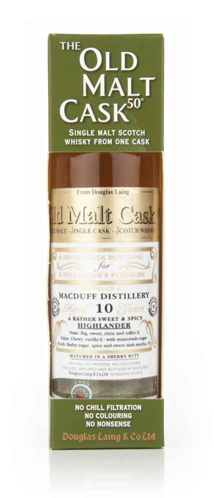 Macduff 10 Year Old 2000 Cigar Malt - Old Malt Cask (Douglas Laing) 20cl